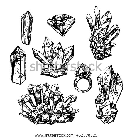 Black diamond outline
