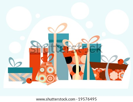 Beautiful Holiday Background for cards etc