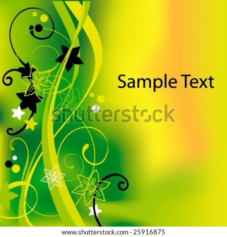 Beautiful nature background with place for text