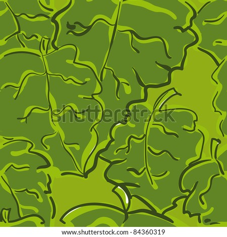 beautiful seamless pattern with leaf