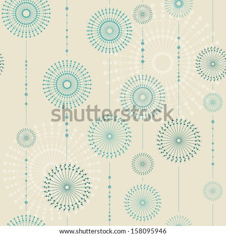 Beautiful snowflakes. Abstract seamless background with trendy elements.Vector pattern for web-design, textile, graphic design.  - stock vector