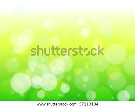 Beautiful spring forest bokeh. Vector eps10 background