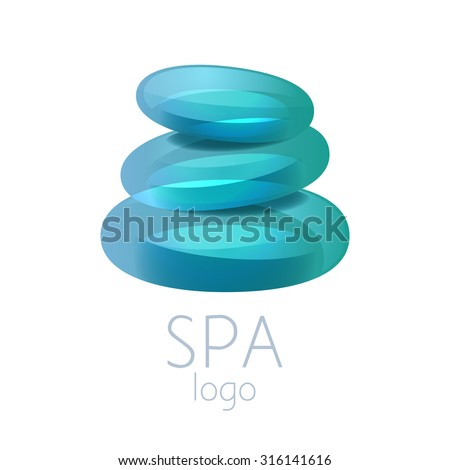 Spa logo stock photos images pictures shutterstock for Salon turquoise