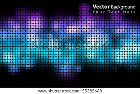 Beautiful vector colorful background - stock vector