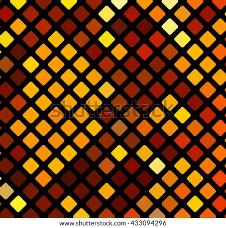 Beautiful vector geometric bright background. Design element. - stock vector