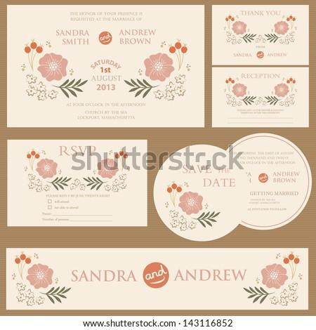 Wedding invitation card stock images royalty free images beautiful vintage wedding invitation cards stopboris Choice Image