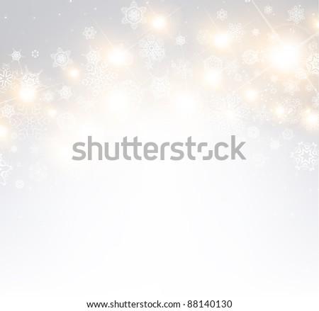 Beautiful xmas background - stock vector