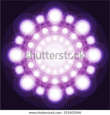 beauty concept abstract purple & pink background - stock vector