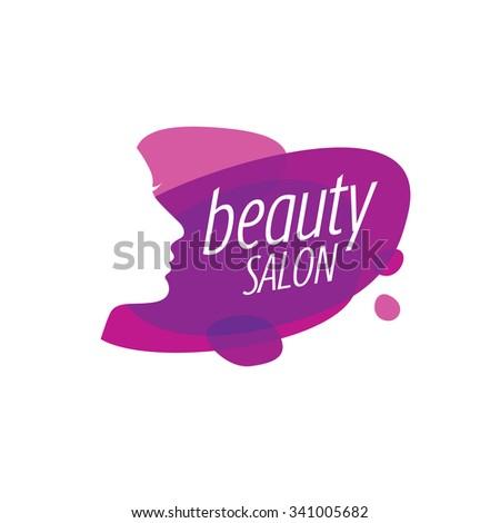 Beauty Female Face Logo Design.Cosmetic salon logo design. Creative Woman Face Vector - stock vector