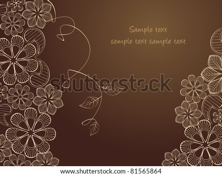 beauty floral illustration