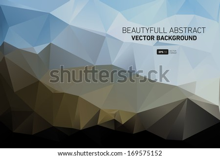 Beautyful abstract vector background - stock vector
