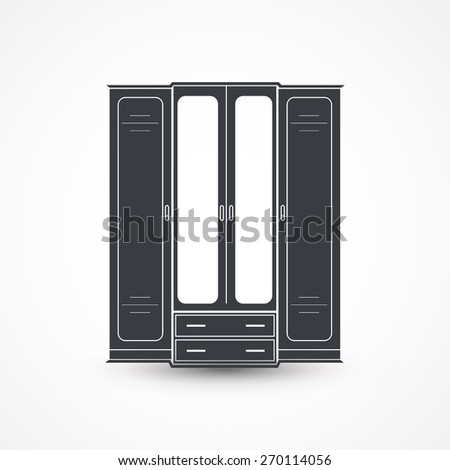 Closet symbol stock photos images pictures shutterstock for Closet icon