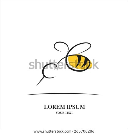 Bee - stock vector