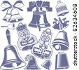 Bell Collection - stock vector