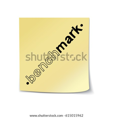 Wow factor hand drawn lettering sticky stock vector 632317913 benchmark hand drawn lettering on sticky note template vector illustration quote handwritten inscription pronofoot35fo Images
