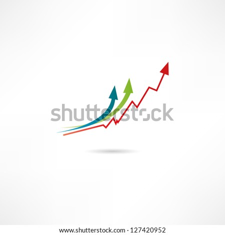 Benefit icon - stock vector