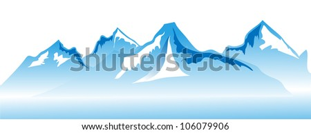 Berg to support the nesting vector format. - stock vector