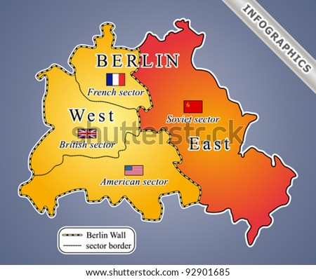 Berlin map during cold war including vector de stock92901685 berlin map during cold war including vector de stock92901685 shutterstock gumiabroncs Choice Image