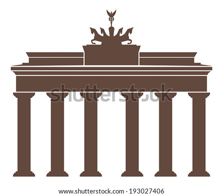 Berlin symbol - stock vector