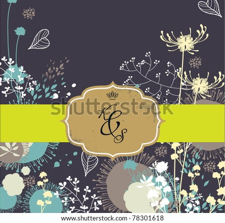 best card collection- best birthday wishing card- wedding invitation card - stock vector