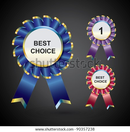 Best Choice Label - stock vector