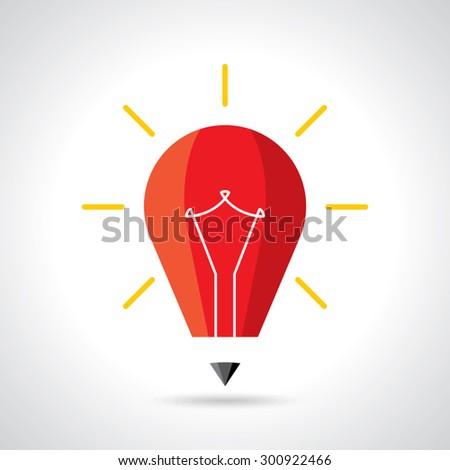 best educative idea concept creative - stock vector
