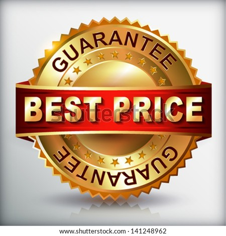 Best Price label.  Vector eps 10 illustration. - stock vector