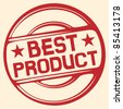 best product stamp - stock vector