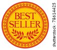 best seller sign (symbol) - stock vector