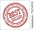 Best seller stamp - stock vector