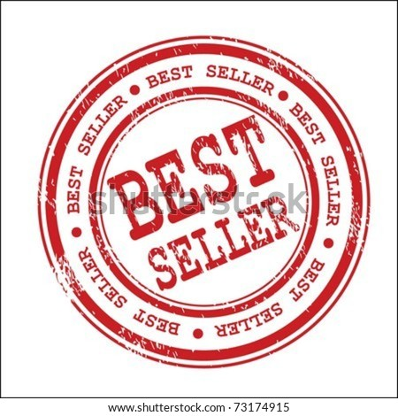 Best seller stamp - stock vector