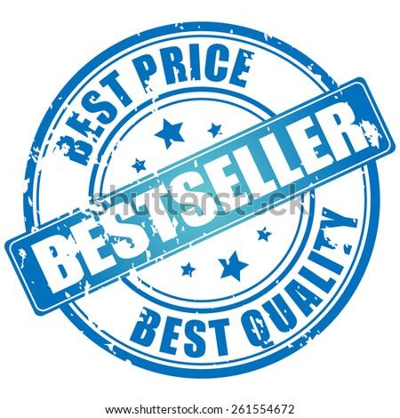 Bestseller vector stamp - stock vector