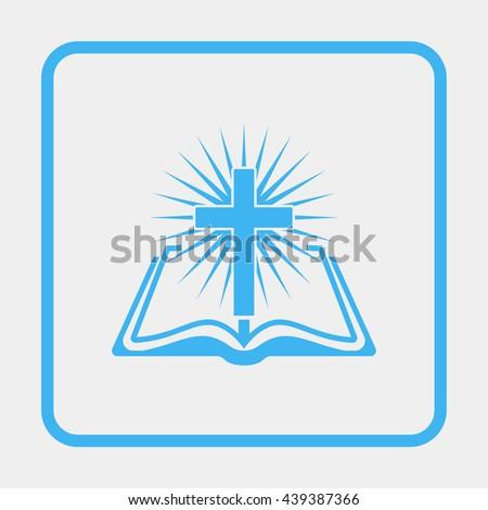 Bible Icon. - stock vector