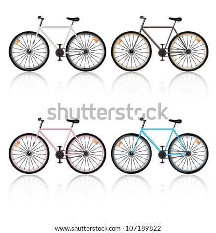 Bicycle - stock vector
