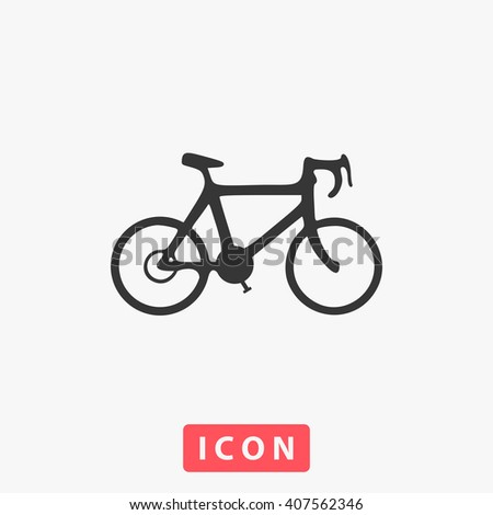 bicycle Icon. bicycle Icon Vector. bicycle Icon Art. bicycle Icon eps. bicycle Icon Image. bicycle Icon logo. bicycle Icon Sign. bicycle Icon Flat. bicycle Icon web. bicycle icon app. bicycle icon UI - stock vector