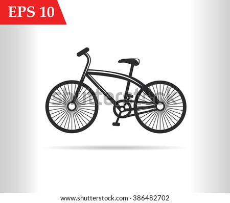 Bicycle icon.Bicycle stock vector.Bicycle icon jpg.Bicycle icon art.Bicycle icon graphic.Bicycle icon object.Bicycle icon eps10.Bicycle icon flat.Bicycle icon web.Bicycle icon app.Bicycle icon art  - stock vector