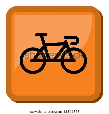 Bicycle icon - bike icon - stock vector