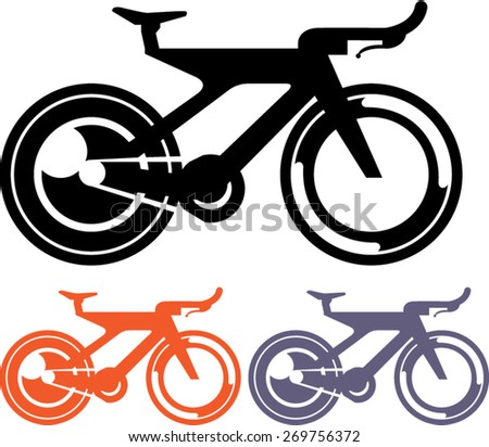 Bicycle Icon Vector - stock vector