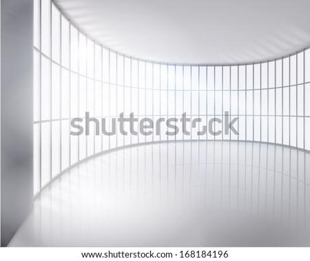 Big apartment. Vector illustration. - stock vector
