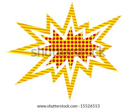 Big Bang - stock vector