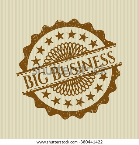 Big Business rubber texture