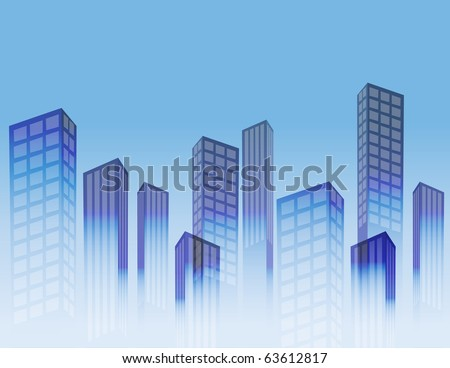 Big city background