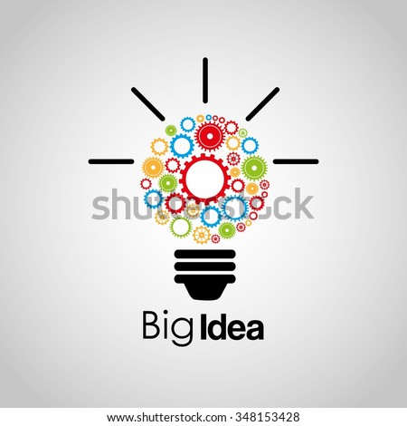 big idea design vector illustration eps10 graphic - Idea Design