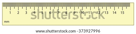 Big new modern kid ui rate ruler icon isolated on white backdrop. Freehand outline ink hand drawn symbol sign sketchy in art scribble retro style pen on paper. Closeup top view with space for text - stock vector