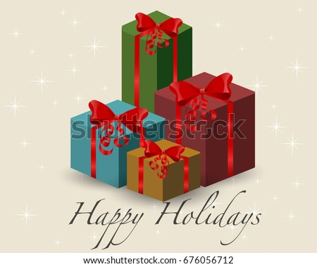 Wrapped gift stock images royalty free images vectors big pile of colorful wrapped gift boxes mountain gifts beautiful present box with overwhelming negle Images