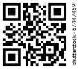 Big Sale data in qr code. (modern bar code). EPS 8 vector file included - stock photo