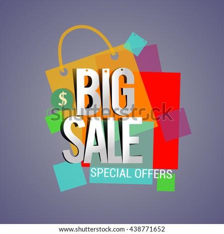 Big Sale Electronics Household Appliances Banner Stock Vector ...