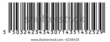 Big unreal barcode - stock vector
