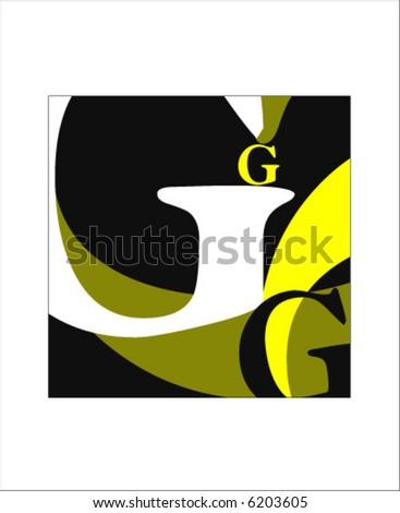 BigG - stock vector
