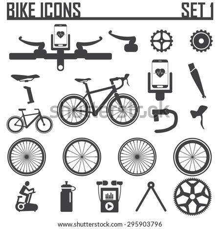bike icon vector illustration. - stock vector